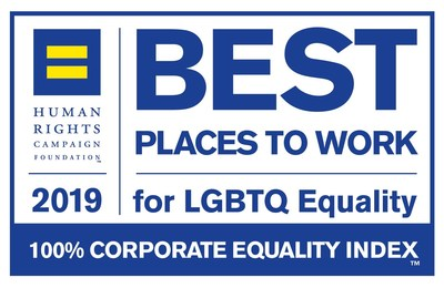 Henry Schein, Inc. received a perfect score of 100 on the 2019 Corporate Equality Index (CEI), the nation's premier benchmarking survey and report on corporate policies and practices related to LGBTQ workplace equality, administered by the Human Rights Campaign (HRC) Foundation.