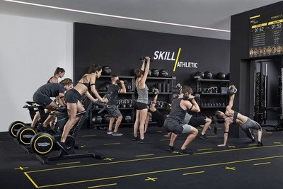 TECHNOGYM SKILLATHLETIC TRAINING EXPERIENCE (PRNewsfoto/TECHNOGYM)