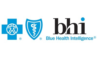 Blue Health Intelligence Logo (PRNewsfoto/Blue Health Intelligence)