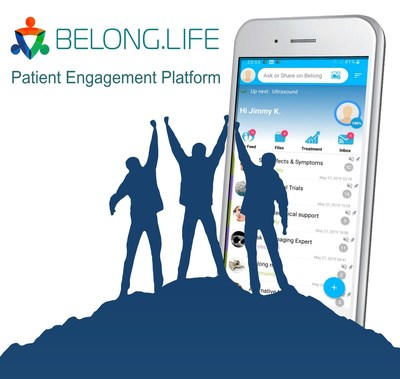 The Belong.life patient engagement platform is an end-to-end engagement solution for patients, payers, providers and pharma