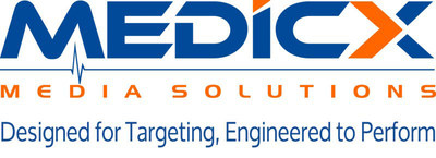 Medicx Tagline Logo (PRNewsfoto/Medicx Media Solutions)