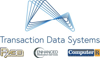 TDS logo with brands (PRNewsfoto/Transaction Data Systems)