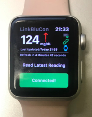 Glucose Reading from FreeStyle Libre Sensor direct-to-Apple Watch