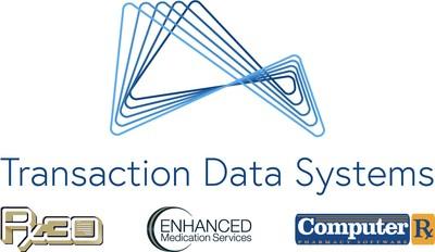 TDS logo with brands (PRNewsfoto/Transaction Data Systems)