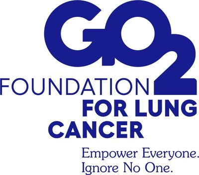 GO2Foundation for Lung Cancer (PRNewsfoto/GO2 Foundation for Lung Cancer)
