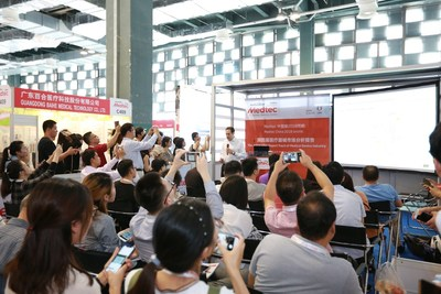 Medtec China 2018 onsite event
