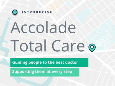 Accolade Total Care presents data intelligence generated from 13+ billion claims representing 255 million unique patients, 950,000 physicians and 1.8 million total providers -- and growing. Combined with personalized nurse-led support for both members and their providers, Accolade transforms the transactional provider search event into a strategic care guidance process.