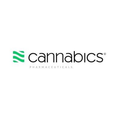 Cannabics Pharmaceuticals Inc. Logo (PRNewsfoto/Cannabics Pharmaceuticals Inc.)