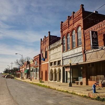 Caddo, Oklahoma, site of CG's first Citizen Center