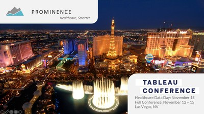 Prominence is sponsoring the inaugural Healthcare Data Day at Tableau Conference 2019!