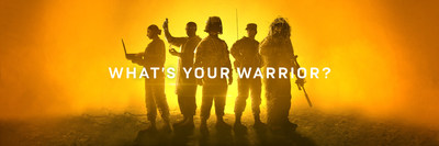 "Teaser imagery from the ""What's Your Warrior?"" campaign."