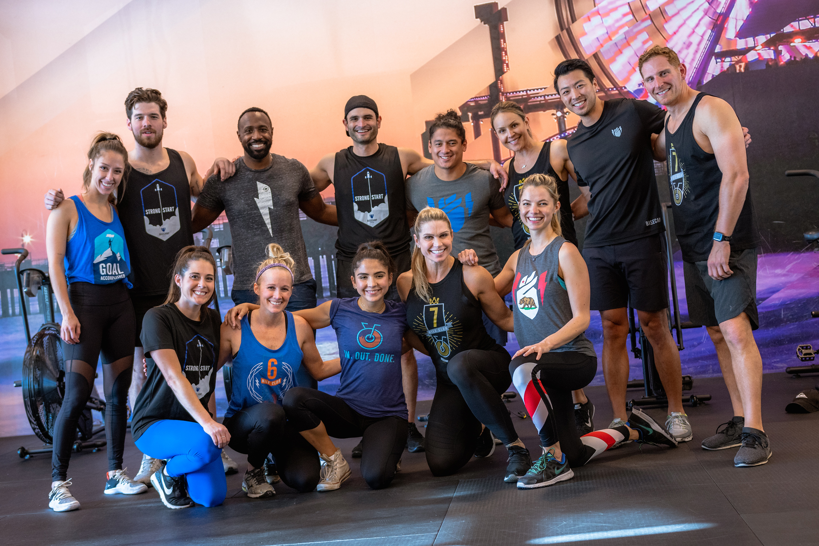 The new Basecamp Fitness app allows members to stay connected with friends and other members in real-time on one device.