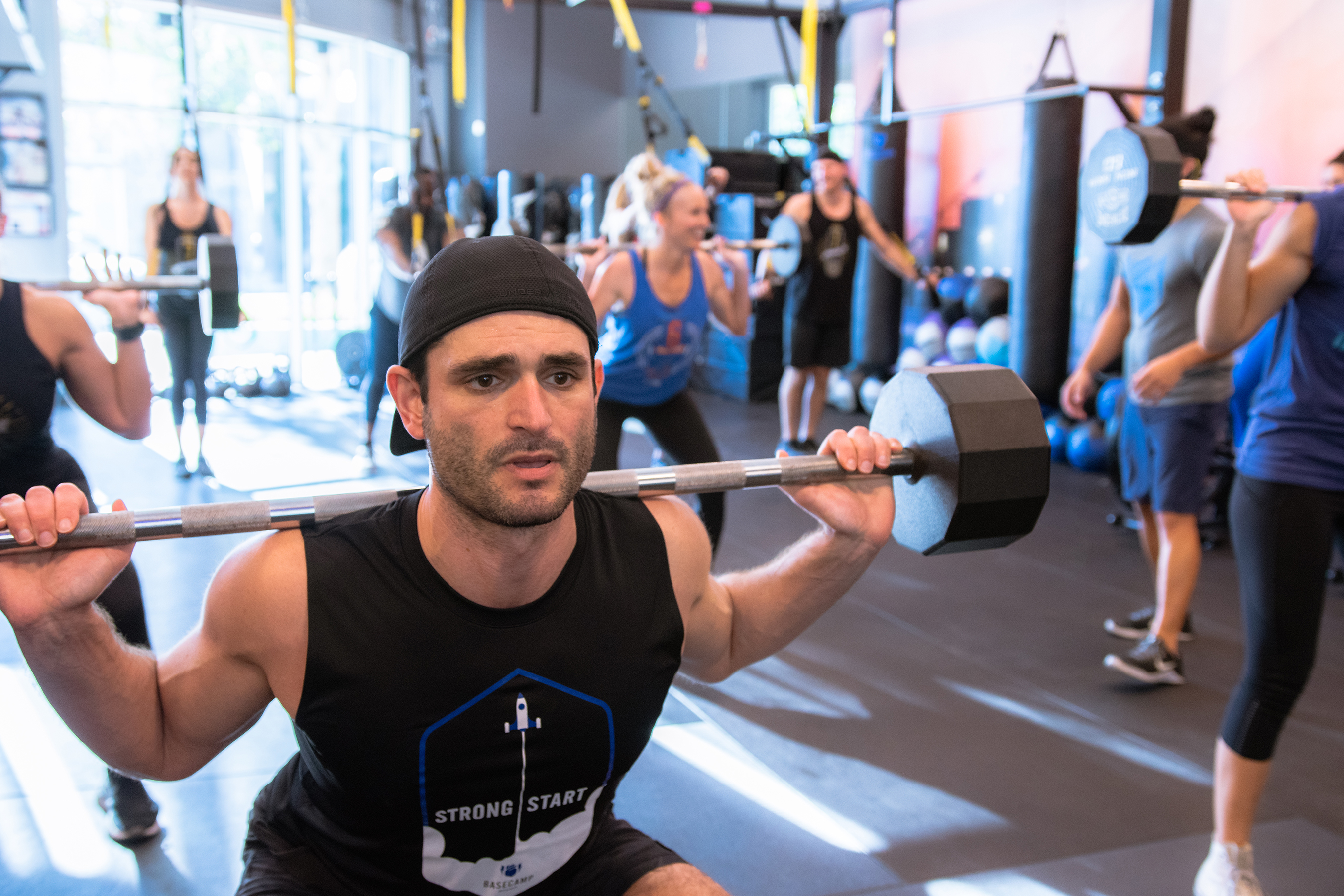 Basecamp's vision is to help members be the best versions of themselves, improve their self-esteem and connect to a purpose that is greater than fitness.