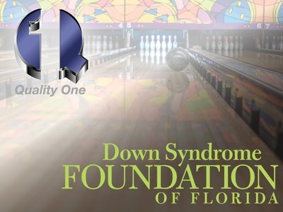 """Quality One Wireless is proud to be celebrating it's 10th year in supporting the Down Syndrome Foundation of Florida by raising money and participating in the organization's """"Bowl-A-Thon Tournament of Champions""""."""