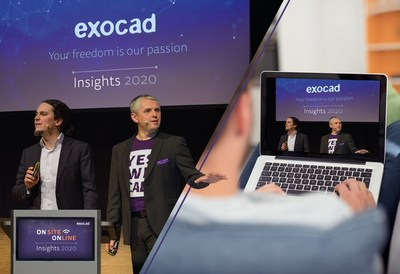The global dental event exocad Insights is now taking place on September 21 and 22, 2020 as a hybrid event: several hundred participants can be present at darmstadtium in Darmstadt. In addition, participants from all over the world can experience exocad Insights 2020 online via a live stream.