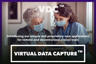 Virtual Data Capture™, a proprietary new application for remote and decentralized clinical trials.